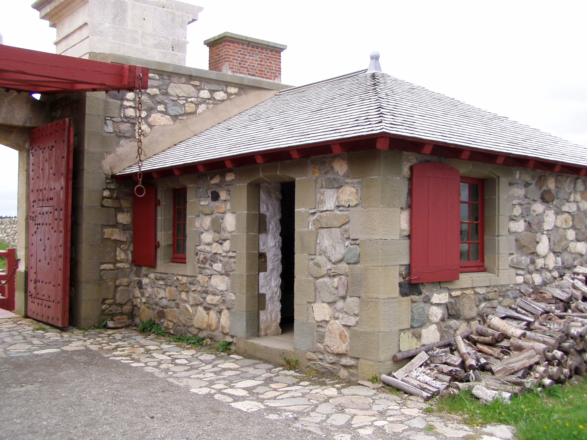 Image result for louisbourg dauphin gate