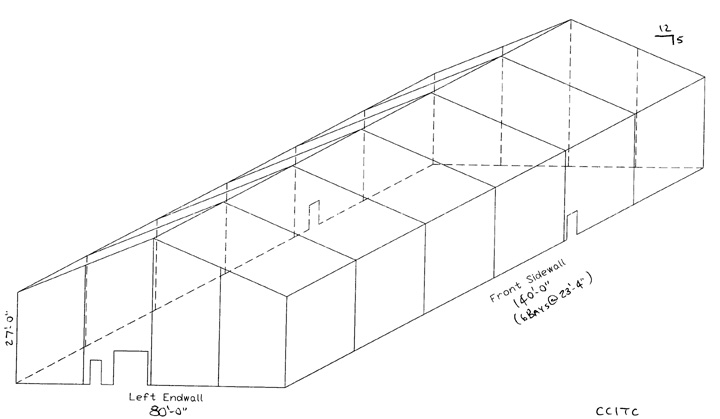 Proposed Building And Tennis Court