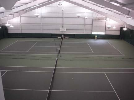 Cromarty Community Indoor Tennis Centre Double Court