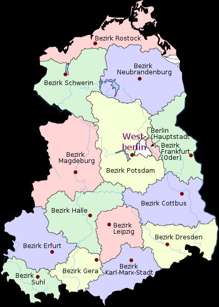 East Germany -Deutsche Demokratische Republik (DDR) - German